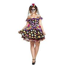 67e5ebb6569 Sugar Skull Senorita Adult Women s Day of the Dead Plus Size Halloween  Costume
