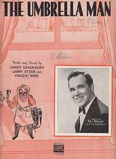The Umbrella Man-1938-James Cavanaugh-6 pg-Sheet Music