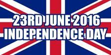 Brexit giorno dell' indipendenza Bandiera Union Jack Gran Bretagna Autoadesivo Autoadesivo