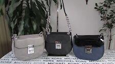 NWT Michael Kors Leather Cecelia Mini Saddle Crossbody Bag