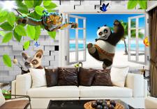3D Bäume, Kung Fu Panda 44 Fototapeten Wandbild Fototapete BildTapete Familie DE
