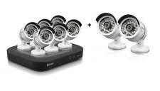 Swann DVR8 4750 8 Channel 1080p TVI AHD 2TB Pro T858 3 MP HD Cameras CCTV Kit