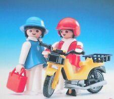 Playmobil -- Pièce de rechange -- Vélomoteur jaune 3302 --