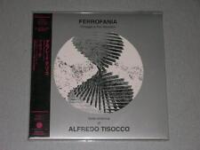 ALFREDO TISOCCO ferrofania JAPAN mini lp CD OPUS AVANTRA SEALED