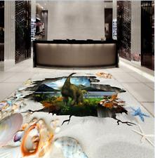 3D dinosauro sabbia Pavimento Foto Wallpaper Murales Muro Stampa Decalcomania