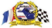 A. PROST F1 WORLD Champion Sticker