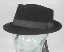 0c9040793b7 Maclean Michael Zechbauer Clark Felt Hat Trilbyhut Trilby Felt Hat Black New