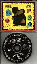 SUPERSUCKERS 5TRK Sampler w/ 2 RARE EDITS USA PROMO DJ CD single 1995 SUB POP