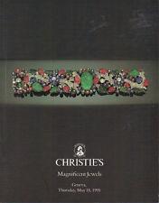 CHRISTIE'S GENEVA JEWELS Bulgari Cartier Graff Marina B Sterle Coll Catalog 1995