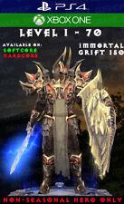Diablo 3 - PS4 - Xbox One - Fully Modded PRIMAL Set - Akkhan - Crusader V3
