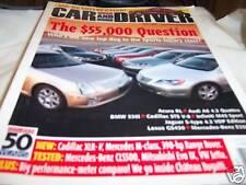 Car and Driver Magazine 5/2005 Acura RL, Audi A6 4.2