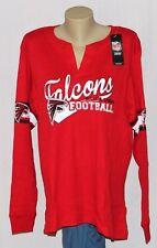 Atlanta Falcons Womens Plus Size Thermal Long Sleeve Shirt - NFL Plus Sizes