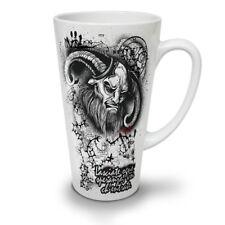 Devil Satana Inferno Teschio Nuovo White Tea Tazza Da Caffè Latte Macchiato 12 17 OZ   wellcoda