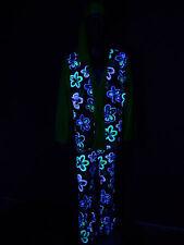 Schwarzlicht Kostüm Flower Power Man Hippie