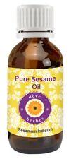 Sesamöl (Sesamum indicum) 100% reines natürliches kaltgepresstes Sesame Oil