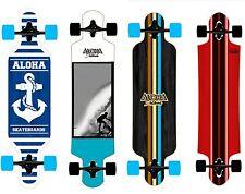 Longboard Aloha Drop Through in 4 modelle zur wahl Neu Skatebaord