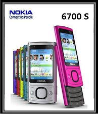 Original NOKIA 6700s Camera 5.0MP Bluetooth Java 3G GSM Unlocked slide Phone