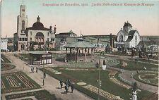 POSTCARD EXHIBITIONS Brussels  1910  Holland garden