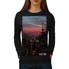Empire State Building Women Long Sleeve T-shirt NEW | Wellcoda