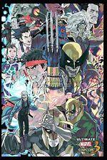 RGC Huge Poster - Ultimate Marvel VS Capcom 3 PS3 XBOX 360 - EXT347