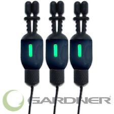 Gardner Tackle Nano Bug Bite Indicators Black & Betalights (Set of 3) - Fishing