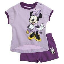 Completo corto neonata Disney Minnie viola