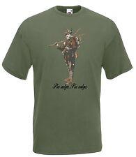 T-shirt Maglietta J1868 Più Salgo Più Valgo Motto Alpini Motto Storico
