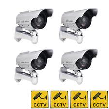 Phot-R Solar Powered Dummy Camera CCTV Security Surveillance Cam Fake IR LED
