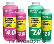 General Hydroponics pH 4.01 & pH 7.0 Calibration Solutions -meter buffer