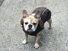 Dog Coat Brown Winter Soft comfort All sizes French Bulldog Pug Bulldog sale