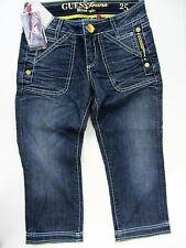 Guess 1981 Jeans Capri Hose Pants Shorts Blau Neu UVP 149€
