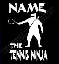 Tenis camiseta Personalizado tenis camiseta Ninja tenis camiseta Add Tu Nombre