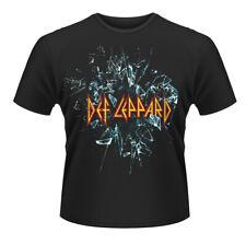 Def Leppard Logo Rock Joe Elliot Heavy Metal Official Tee T-Shirt Mens Unisex