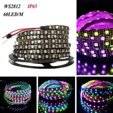 WS2812B 5050 RGB LED Strip Light 1M/5M 300 Leds 60 LED/Waterproof ASS