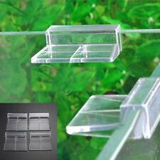 4 unità SUPPORTO ACQUARIO,gambario, acrilica coperchio acquario vetro 6mm,8mm