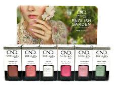 Cnd Shellac Gel Polish - ENGLISH GARDEN Spring 2020 - 0.25oz/7.3ml Pick Any