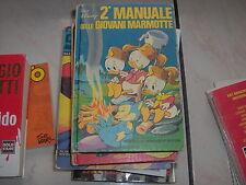 2° MANUALE DELLE GIOVANI MARMOTTE DISNEY 1A EDIZ.1975 QUARTA RISTAMPA 1979
