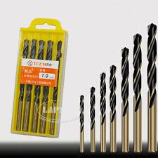 3.2-8.5mm Hole Saw Metalworking Twist Hard Metal HSS Drill Bit Set Tool Steel AU