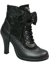 Demonia Stiefel Glam 200 Gothic / Spitze / Lolita High Heel Boot #5005