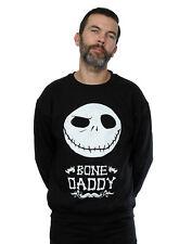 Disney hombre Nightmare Before Christmas Bone Daddy Camisa de entrenamiento