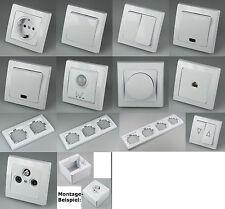 Série de DELPHI Interrupteur de lumière Prise Bouton Détecteur de mouvements