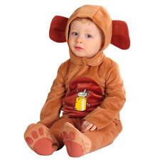 Baby Bärenkostüm 90 cm, 1-2 Jahre, Bär Kostüm Overall, Plüsch Strampler Bärchen