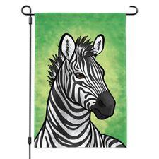 Savannah Social Elephant Giraffe Lion Hippo Zebra Monkey Garden Flag Small 18x12