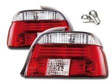 2 FEUX ARRIERE BLANC ET ROUGE BMW SERIE 5 E39 PHASE 1 + 2 AMPOULE CLIGNOTANT