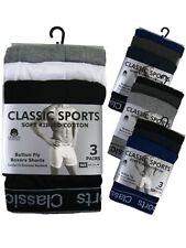 6 12 para Hombre Clásico Boxer Shorts Pantalones desgaste normal de Deportes Lote surtido de ropa interior