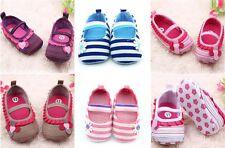 HOT Infant Newborn Baby Girls Princess Non-Slip Flower Shoes Toddler