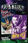 Classic Film Noir Double Feature Vol 3: Reign of Terror/ the Amazing Mr. X DVD