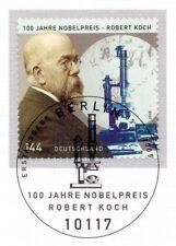 BRD 2005: Robert Koch Nr. 2496 mit dem Berliner Ersttags-Sonderstempel! 1A 1602