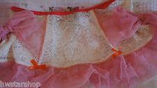 "Lucy B Lingerie ""Shortcake"" Peaches & Cream Flirty Mini Slip ~Various Sizes~"