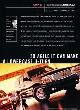 2002 GMC Yukon XL Denali - u-turn - Classic Vintage Advertisement Ad H03
